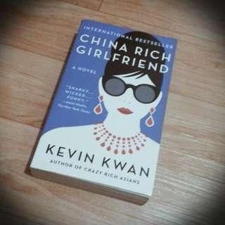 Free SF Brand New Book China Rich Girlfriend