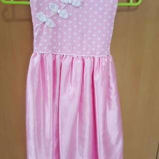CNY  PARTY SWEET LITTLE GIRL DRESS