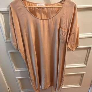 Zimmermann Silk T-Shirt Dress