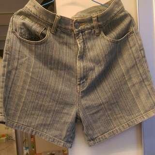 (含運)高腰牛仔短褲