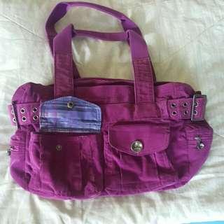 Purple Oakley Handbag