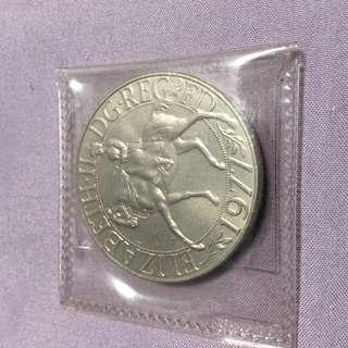 Queen Elizabeth 25 Anniversary Coin