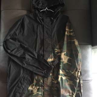 Carre Windbreaker Splice Camo/Black