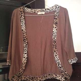 Cardigan Leopard