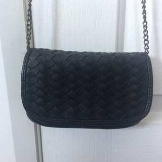 Cute Black Bluebird Bag