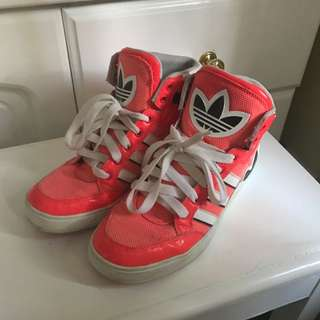 Adidas Hot pink Sneakers