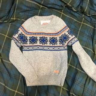 Superdry  極度乾燥 Vintage 毛衣