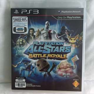 PS3 Game: All Stars Battle Royale