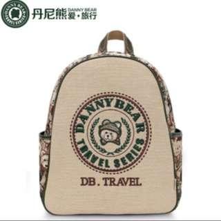 BN Danny Bear Travel Series Backpack