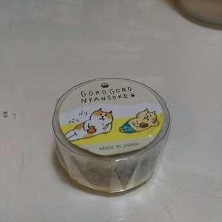 日本帶回 貓 紙膠帶