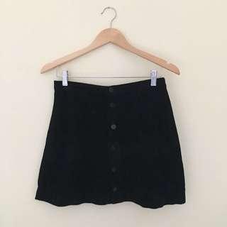 American Apparel A-line Corduroy Skirt