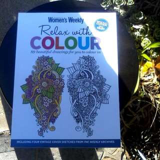 Art Therapy Colouring Books ×3 all