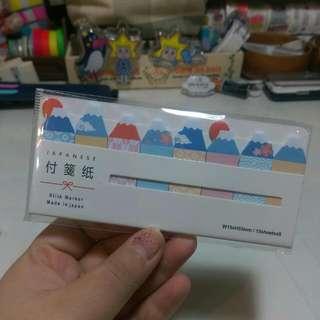 富士山 便籤紙