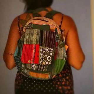 Backpack hippie bag