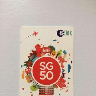 SG50 EZ Link