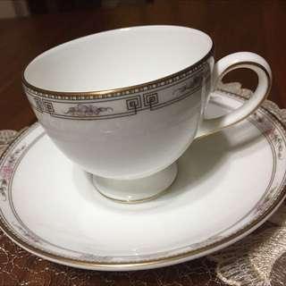 英國名瓷WEDGWOOD骨瓷咖啡杯