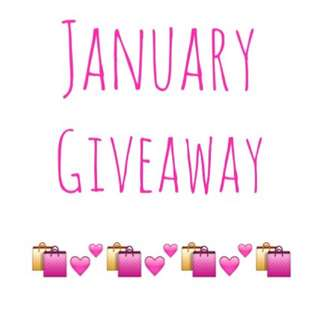 January Giveaway!! Entry To All January Customers