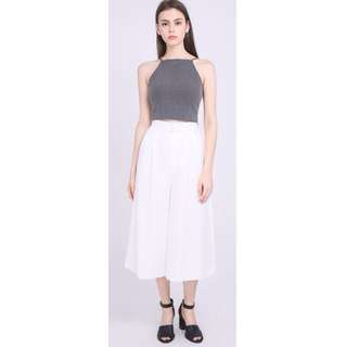 🚚 *BRAND NEW MINT CONDITION* Runway Bandits Culottes Pants - White