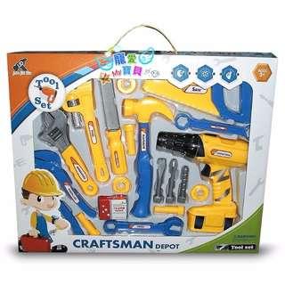 兒童玩具DIY工具組 益智玩具 兒童過家家玩具 組合工具【超商取貨只能用全家】