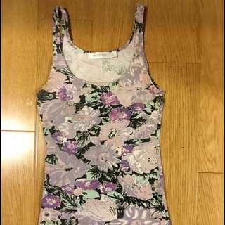 LIPPY MINKPINK Floral Singlet