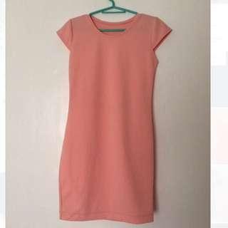 Cute Peach Dress