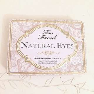 TWO FACED Natural Look 100% AUTHENTIC