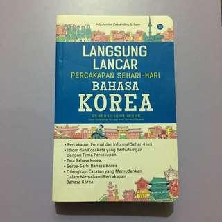 Buku Percakapan Korea