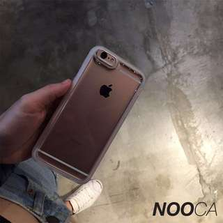 🌟 [Instock x 1] IPhone 6 Plus Transparent Anti-Gravity Case