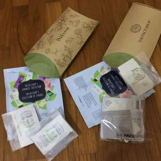 The Face Shop Samples