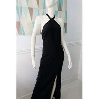 H&M Black Halter / Backless Dress
