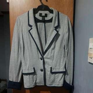 Blue and Grey Blazer