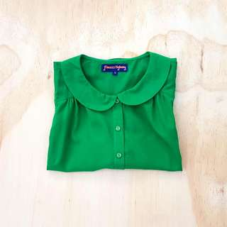 Princess Highway Sleeveless Button-Down Shirt    Size 16