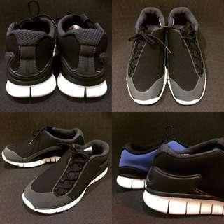 Nike Footscape x Free Run 黑 & 藍 赤足重生