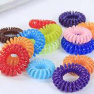 3 x Colorful Elelastic Rubber Band