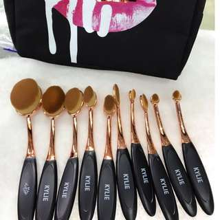 KYLIE 10PCS BRUSH SET