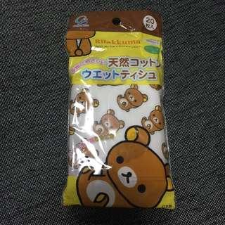 《秋葵本舖》懶懶熊濕紙巾包/日本製