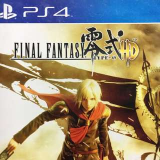 PS4 Final Fantasy Type-0 HD