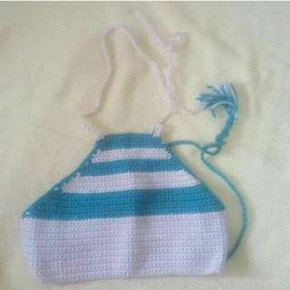 Halter Crochet Bikini