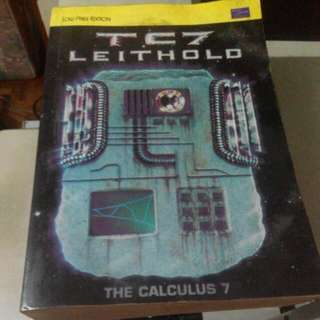 Leithold The Calculus 7 Book