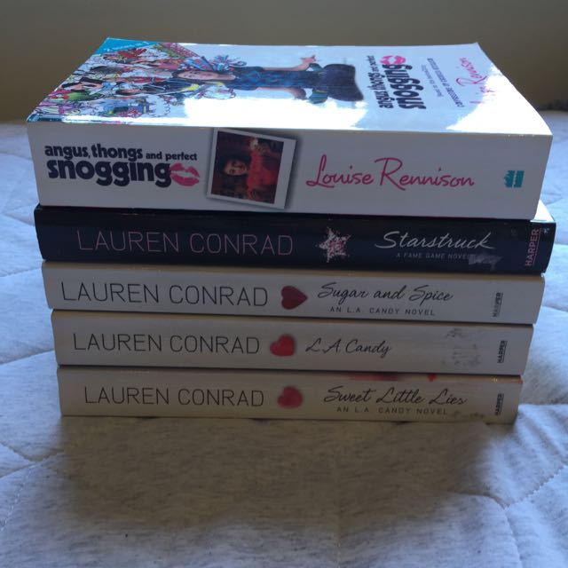 Choose One Book Lauren Conrad Books L.A. Candy Series, A Fame Game Novel