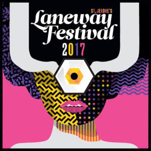 1x Laneway Festival Ticket (Wristband)