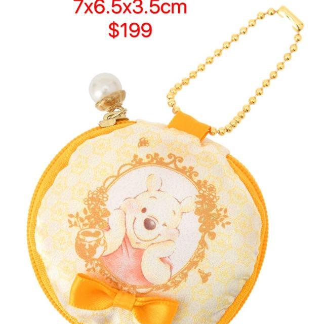 (特價五折)小熊維尼零錢小物包