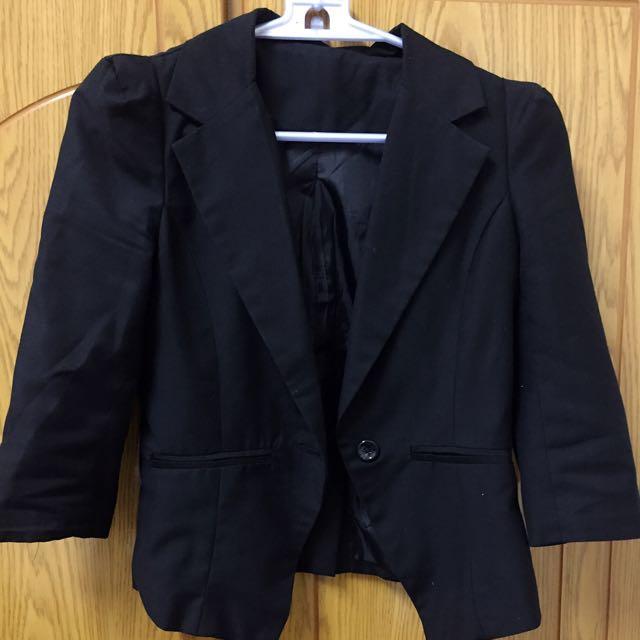 七分袖西裝外套