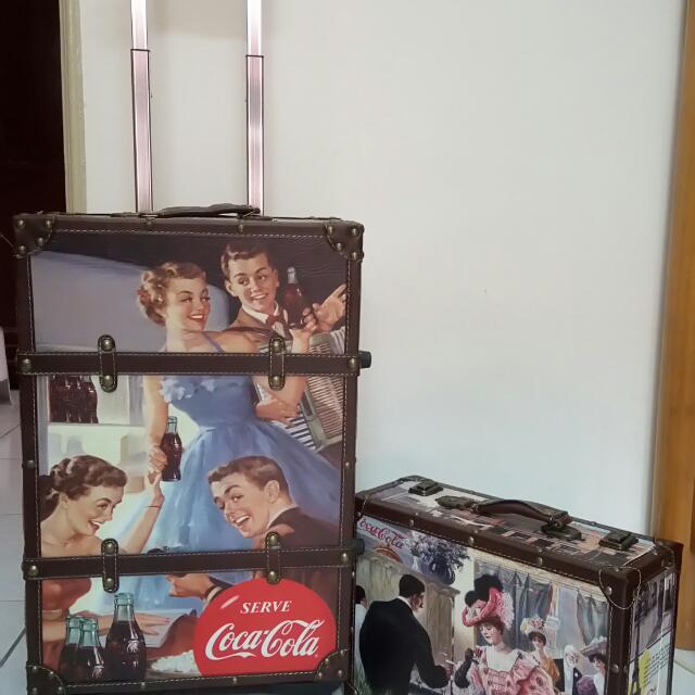 可口可樂行李箱_夢幻逸品