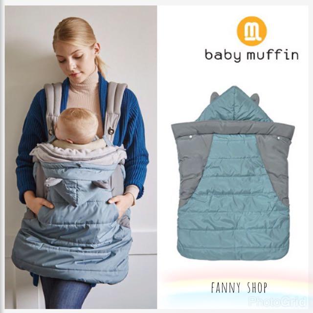 韓國 Baby muffin 多功能防風防雨保暖罩