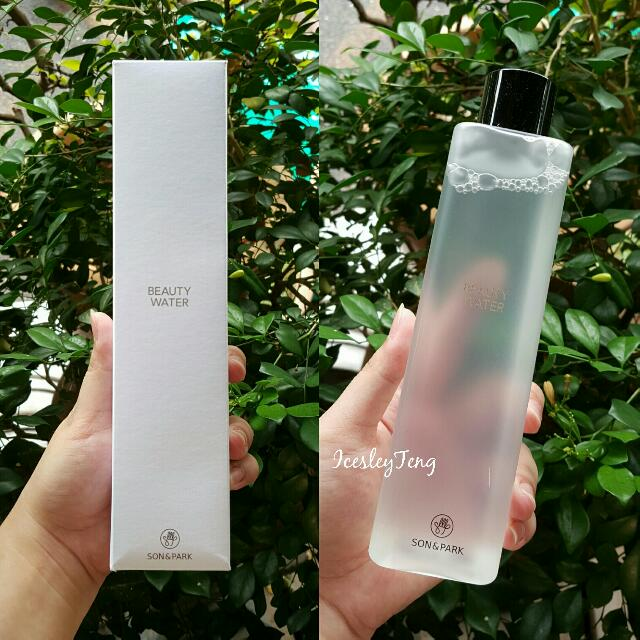 RESERVED Poslaju Included  🆕 Son & Park Beauty Water 340ml