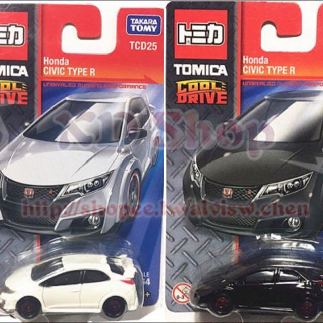 最新 TOMICA HONDA CIVIC TYPE R cooldrive