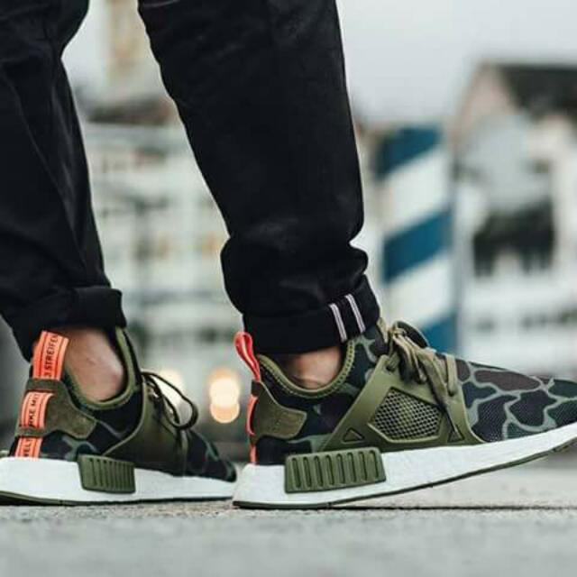 ADIDAS NMD XR1/ Camo Collection