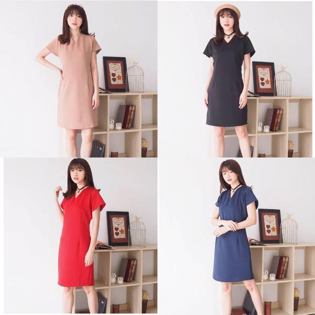 Agnes Basic Dress