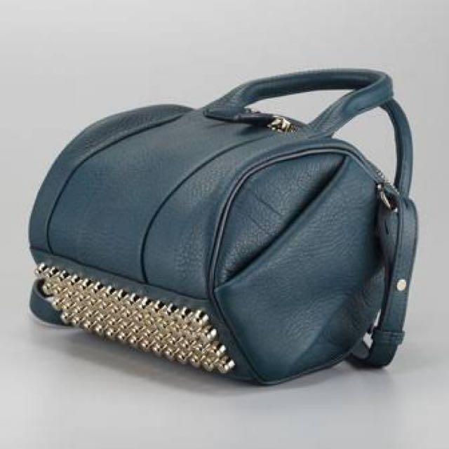 Alexander Wang Rocco Duffle Bag Dark Argon